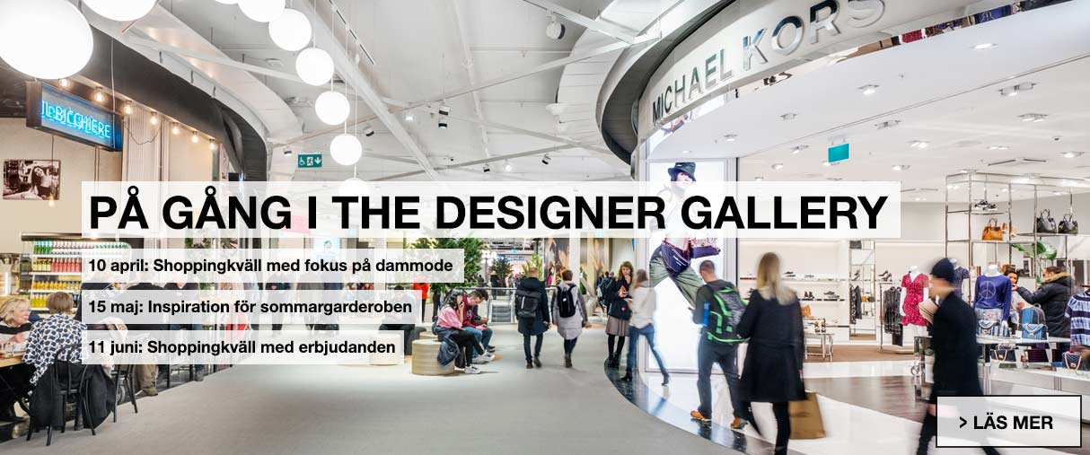 På gång i the designer gallery